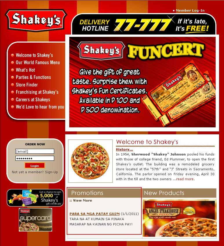 marketing strategy of shakeys Developed store-specific sales goals and demographically-driven marketing strategies  franchise business leader at shakey's domestic and international division.